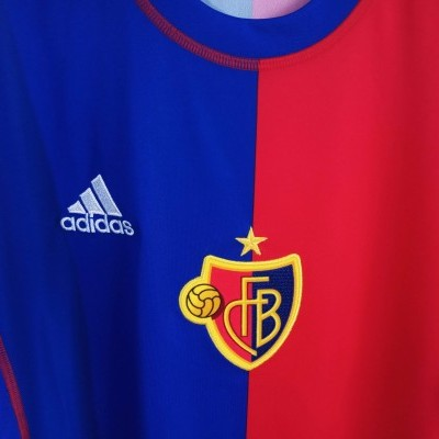 "FC Basel 120 Years Home Shirt 2013-2014 (M) ""Perfect"""