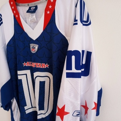 """New York Giants NFL Pro Bowl 2009 #10 Manning (2XL) """"Perfect"""""""