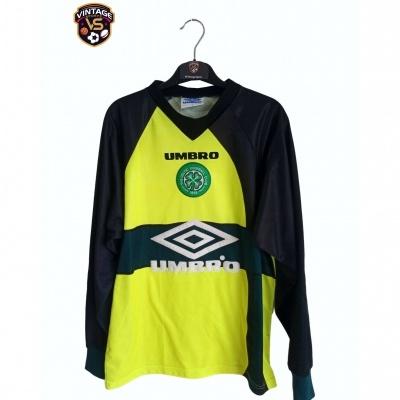"Celtic Glasgow FC Goalkeeper Shirt 1997-1999 (Youths) ""Good"""