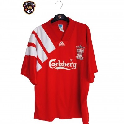 "Liverpool FC Centenary Home Shirt 1992-1993 (XL) ""Good"""