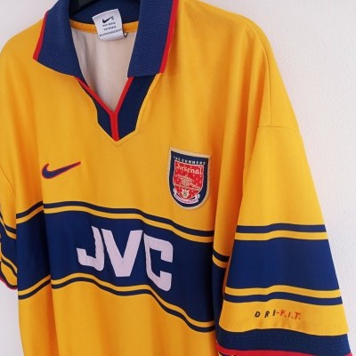 "Arsenal FC Away Shirt 1997-1999 (XXL) ""Good"""