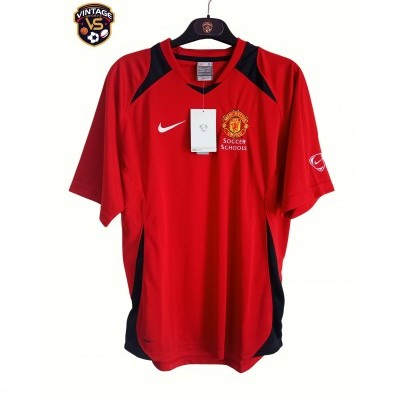 NEW Manchester United Soccer Schools Shirt (S)