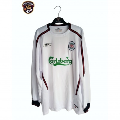 "Liverpool FC Away Shirt L/S 2003-2005 (XL) ""Very Good"""