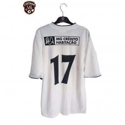"Matchworn Boavista FC Third Shirt 2002-2003 #17 (M) ""Very Good"""