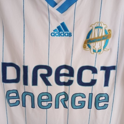 """OM Olympique Marseille 110 Years Home Shirt 2009-2010 (S) """"Very Good"""""""