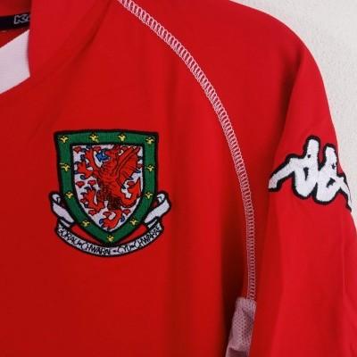 "Wales Home Shirt 2002-2004 (L) ""Good"""