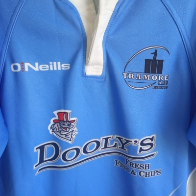 """Tramore RFC Rugby Home Shirt Ireland (M) """"Very Good"""""""