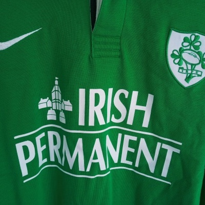 """Ireland Rugby Home Shirt L/S 1999-2000 (XL) """"Very Good"""""""