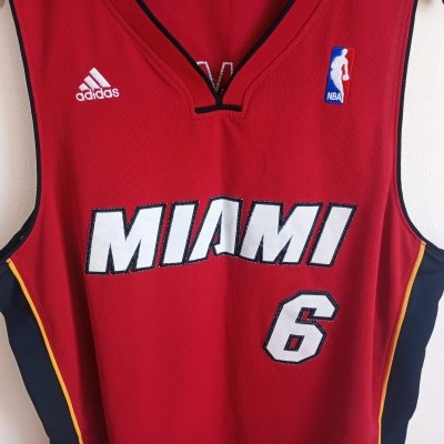 "Miami Heat NBA Shirt #6 James (L) ""Good"""