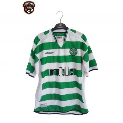 "Celtic FC Home Shirt 2001-2002 (M) ""Good"""