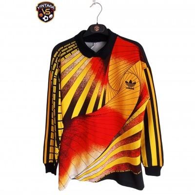 "Vintage Goalkeeper Shirt Adidas 1990 Orange (S) ""Very Good"""