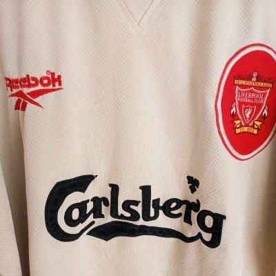 "Liverpool FC Away Shirt 1996-1998 (XL) ""Average"""
