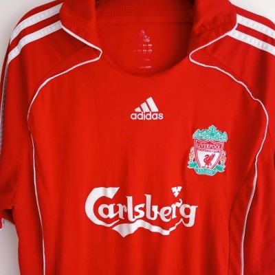 "Liverpool FC Home Shirt 2006-2008 (L) ""Good"""