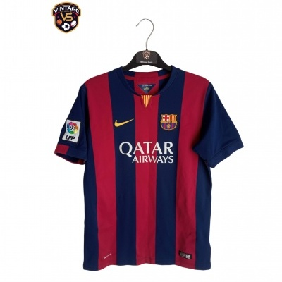 "FC Barcelona Home Shirt 2014-2015 #10 Messi (XL Youths) ""Good"""