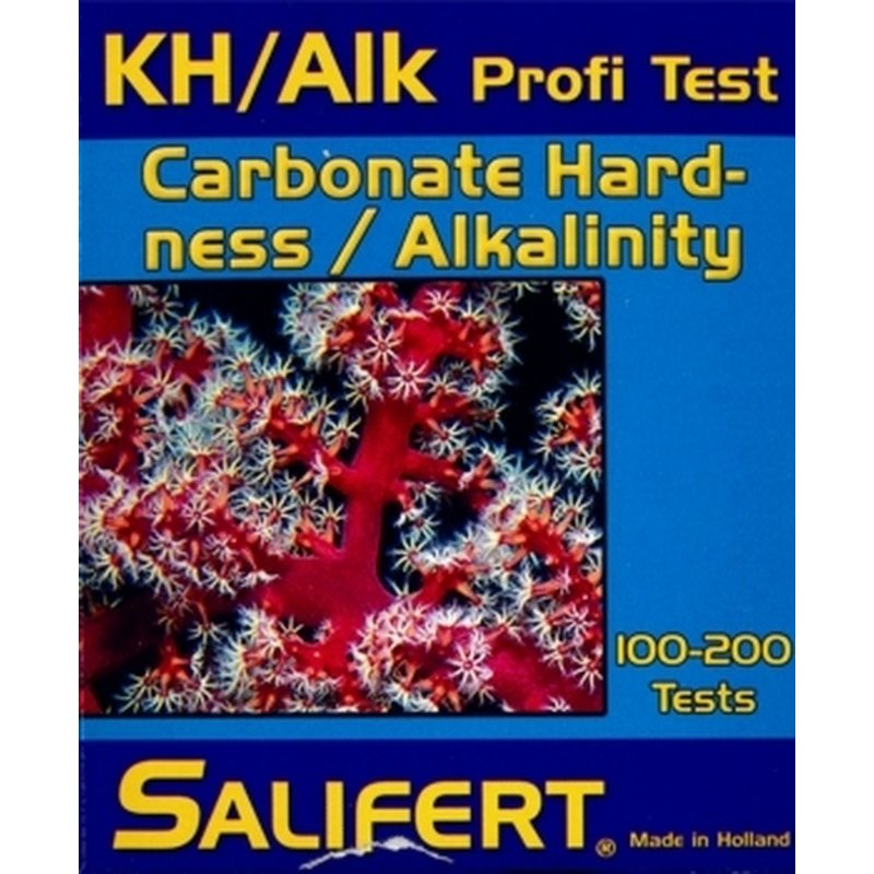 Teste Kh/Alk Salifert