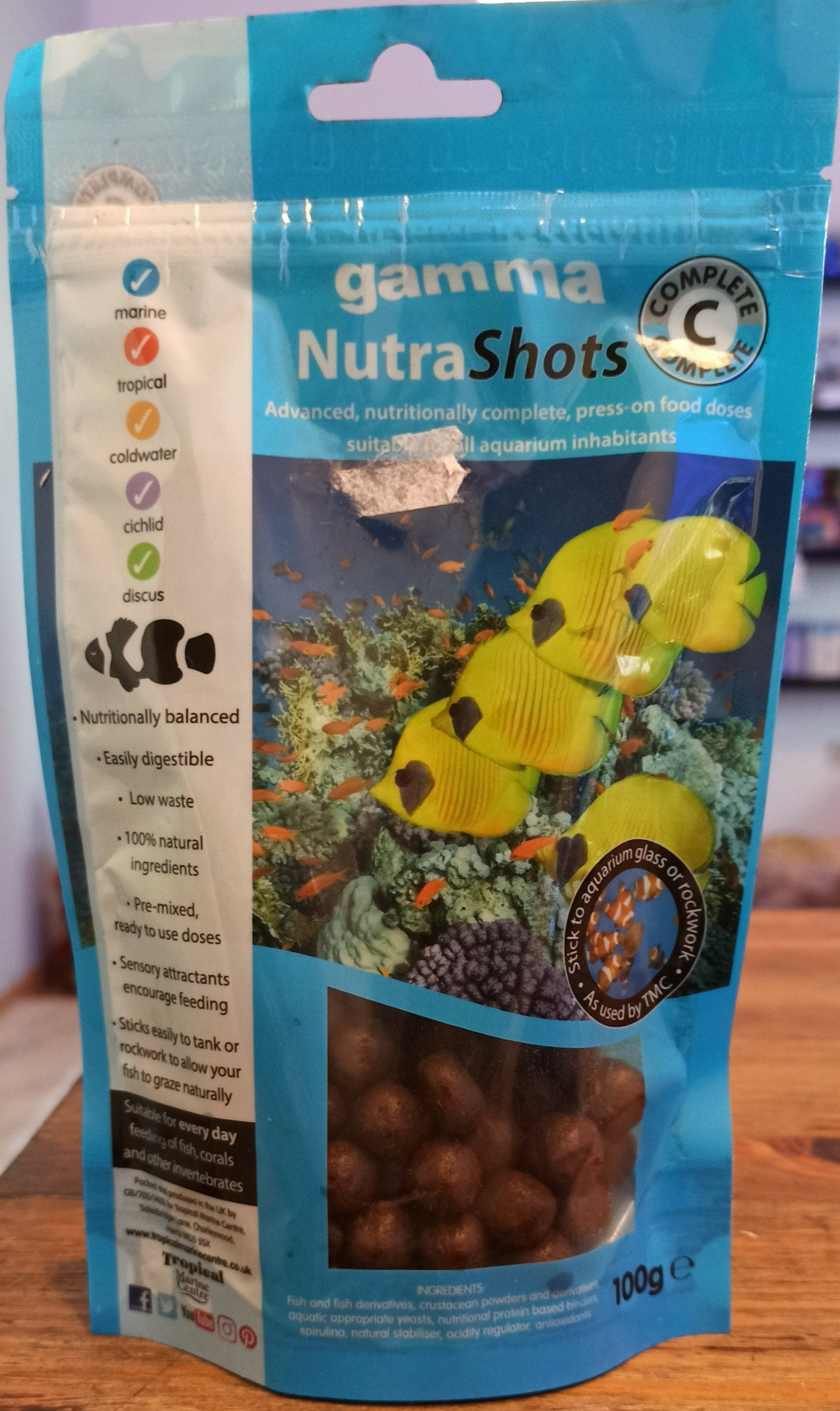 Gamma Nutra Shots C - Complete - 100g