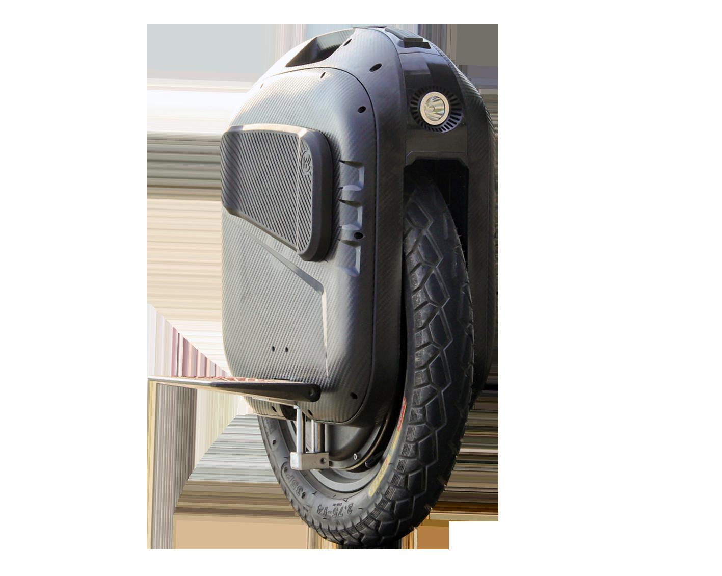 Gotway Monociclo EX (Velocidade máxima: 68 km/h   Autonomia: 150 a 230 km)