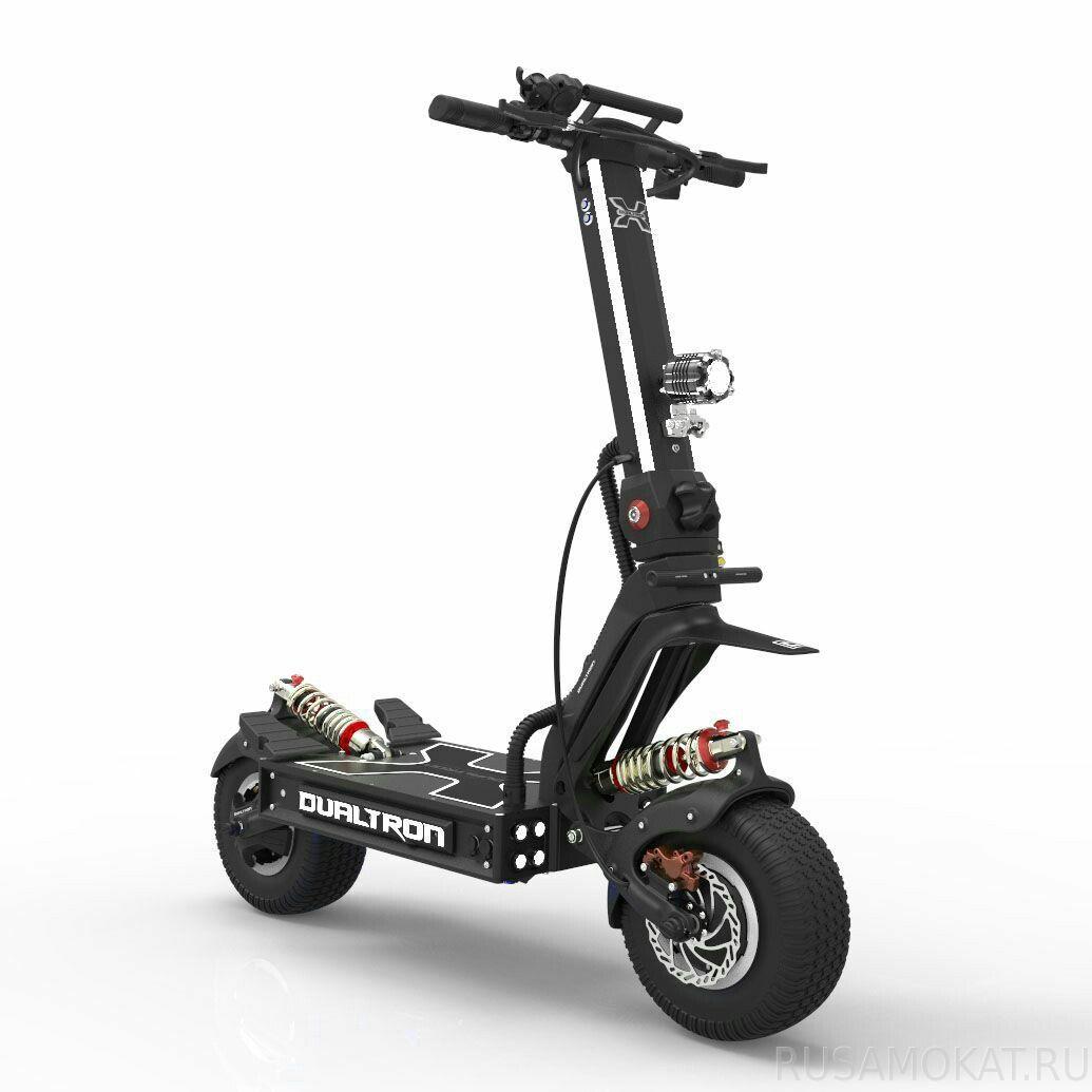 DUALTRON Trotinete Elétrica X (Velocidade máxima: 100 km/h | Autonomia: 150 km)