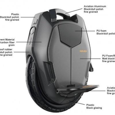 KingSong Monociclo KS16X - 777Wh (Velocidade máxima: 45 km/h | Autonomia: 50 km)