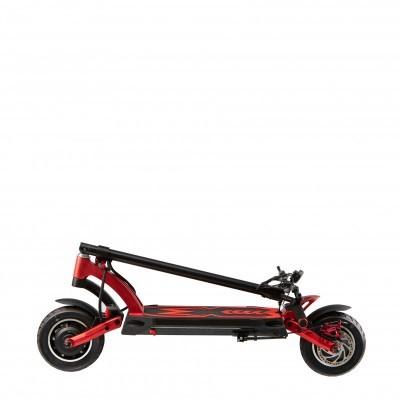 KAABO Trotinete Elétrica Mantis GT preta (Velocidade máxima: 70 km/h | Autonomia: 100 km)
