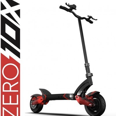 ZERO Trotinete Elétrica 10X 52V 18Ah (Velocidade máxima: 60 km/h | Autonomia: 60 km)