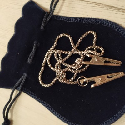 Salva gravatas | corrente para guardanapo  Ref  02