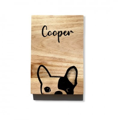 Wood Sign Personalizável