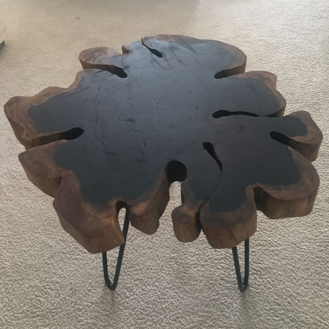 Mesa tronco pau-ferro