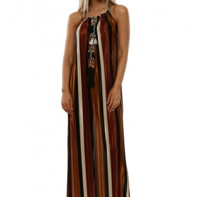Vestido de Riscas 401779