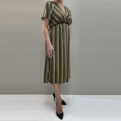 Vestido de Riscas 401981