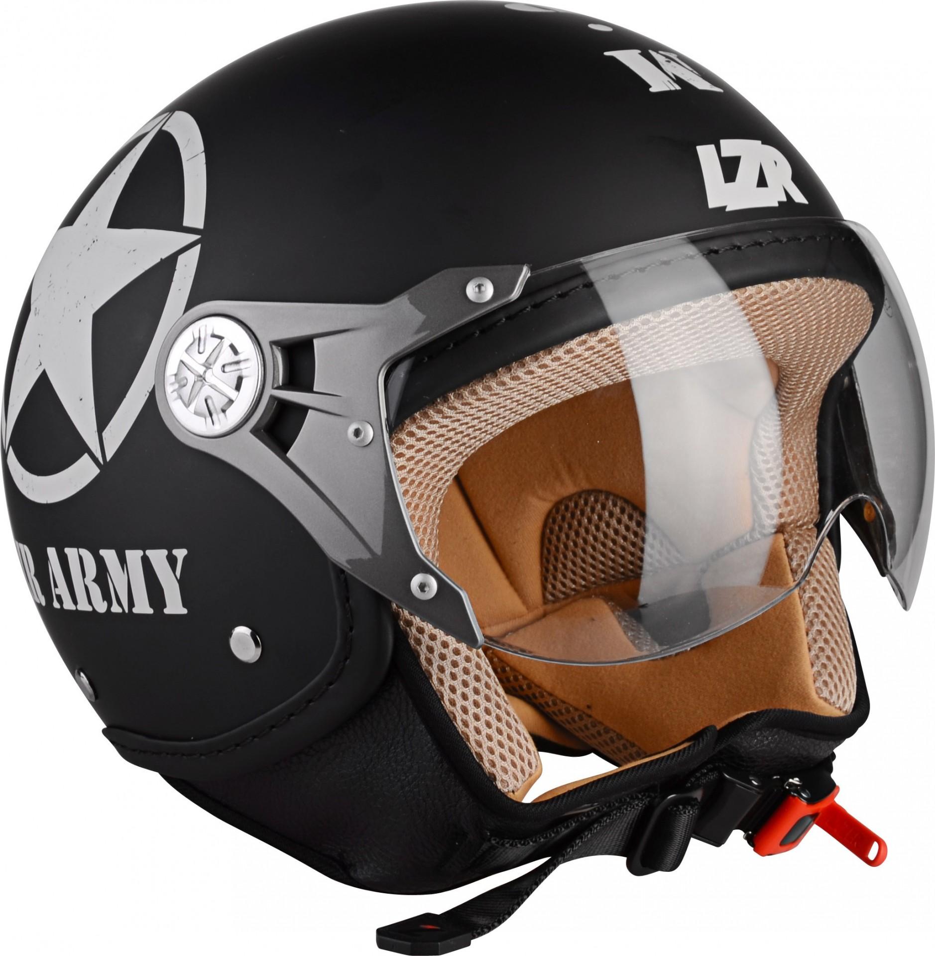 Capacete Aberto LAZER - Army