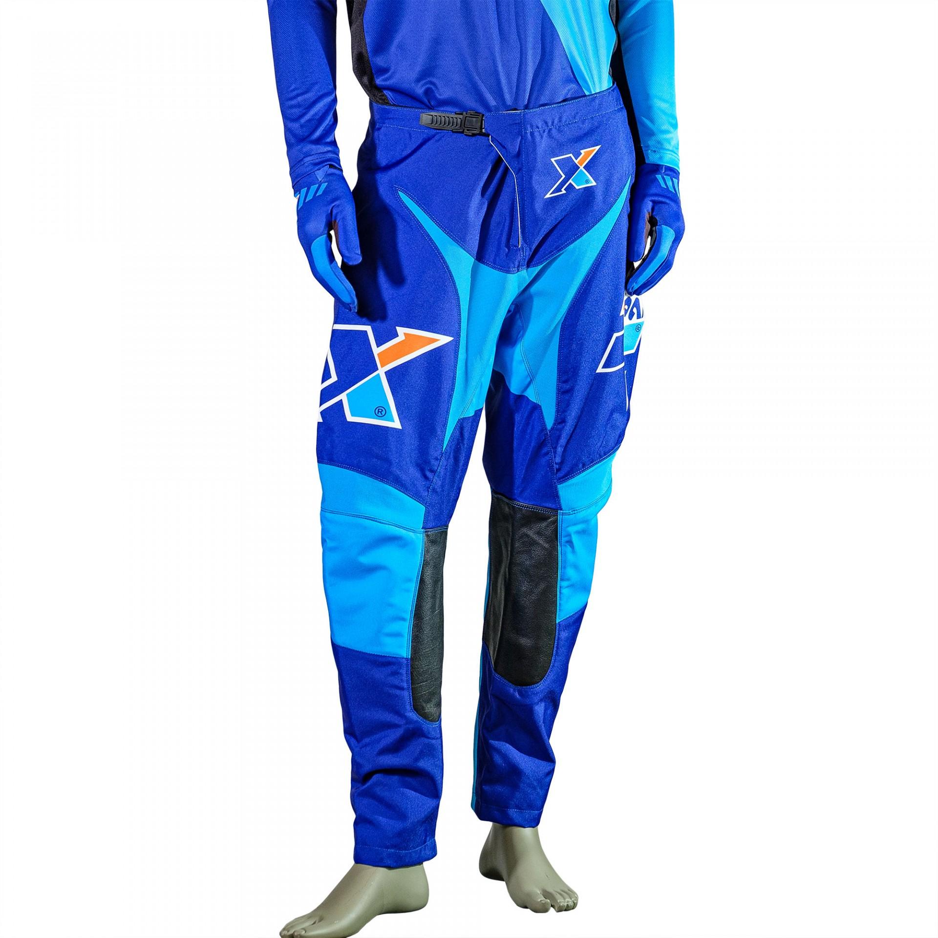 Calças X Since 2013 Azul