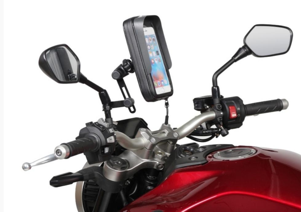 Suporte de telemóvel para mota