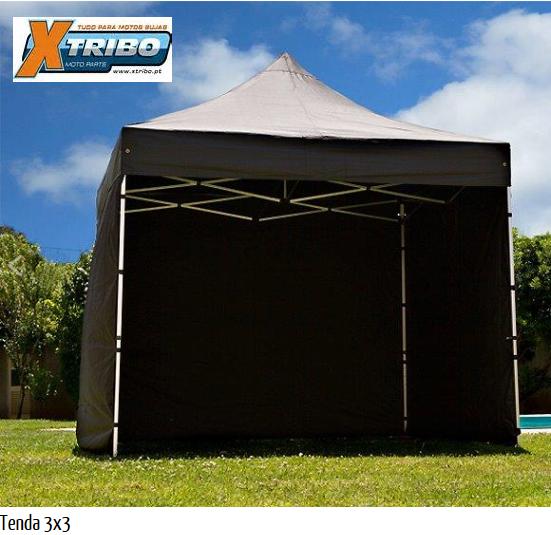 Tenda MultiPlay 3 x 3 com estrutura de 29mm