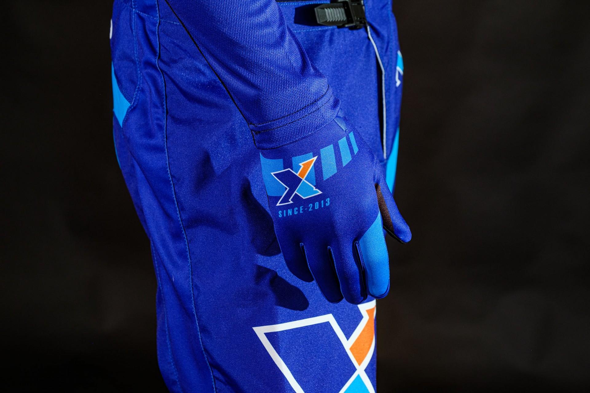 Luvas XTRB - AJJ Azul