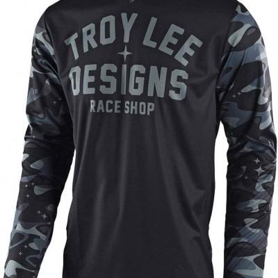 Camisola Troy Lee Designs GP Jersey Cosmic Camo
