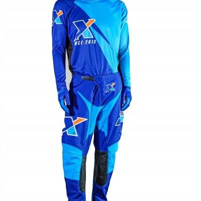 Luvas X Since 2013 Azul
