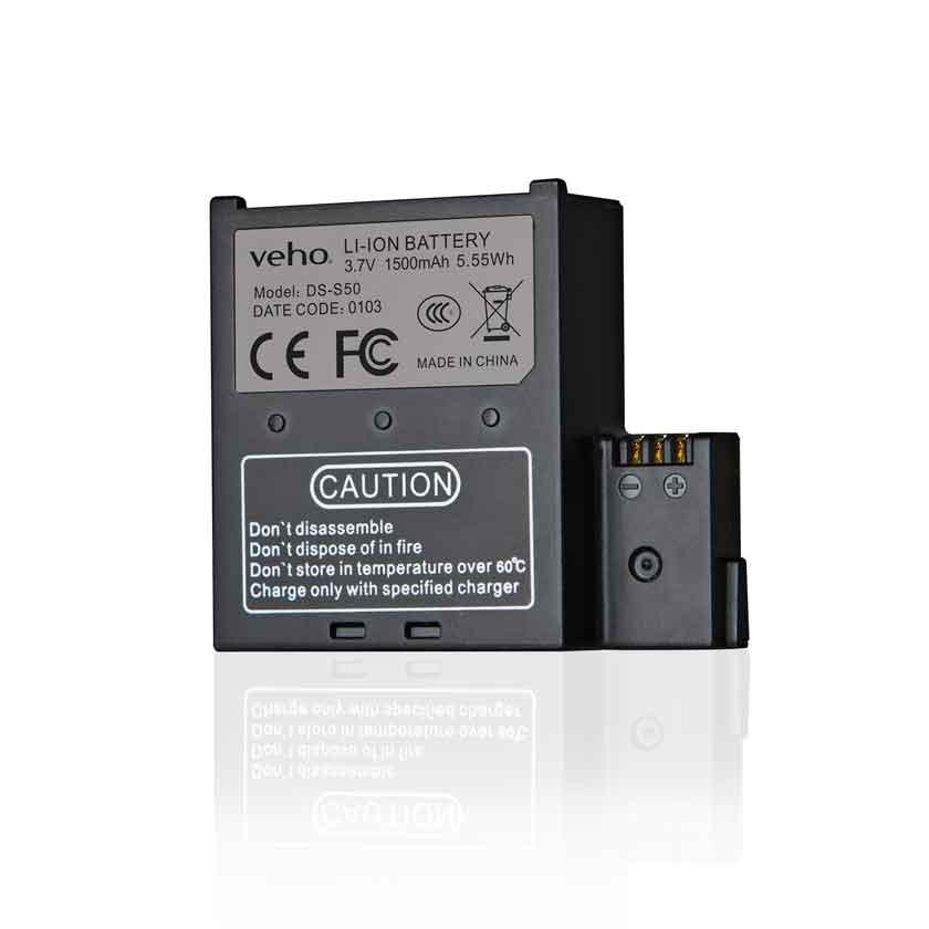 Veho | Bateria Suplente MUVI K-Series