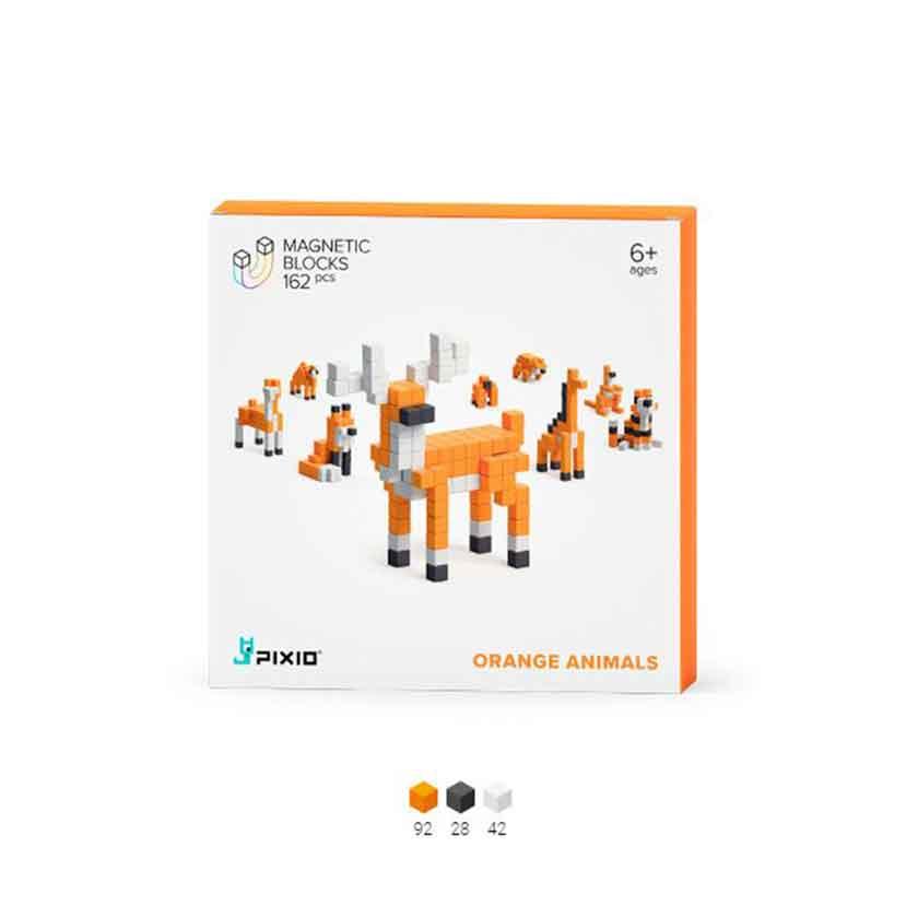 Pixio | Orange Animals