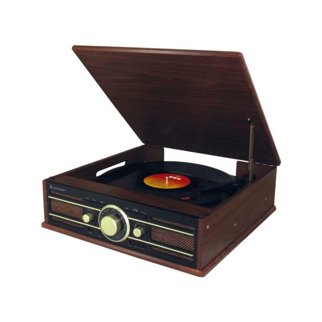 Soundmaster | Gira-Discos com MP3 Enconding PL550BR