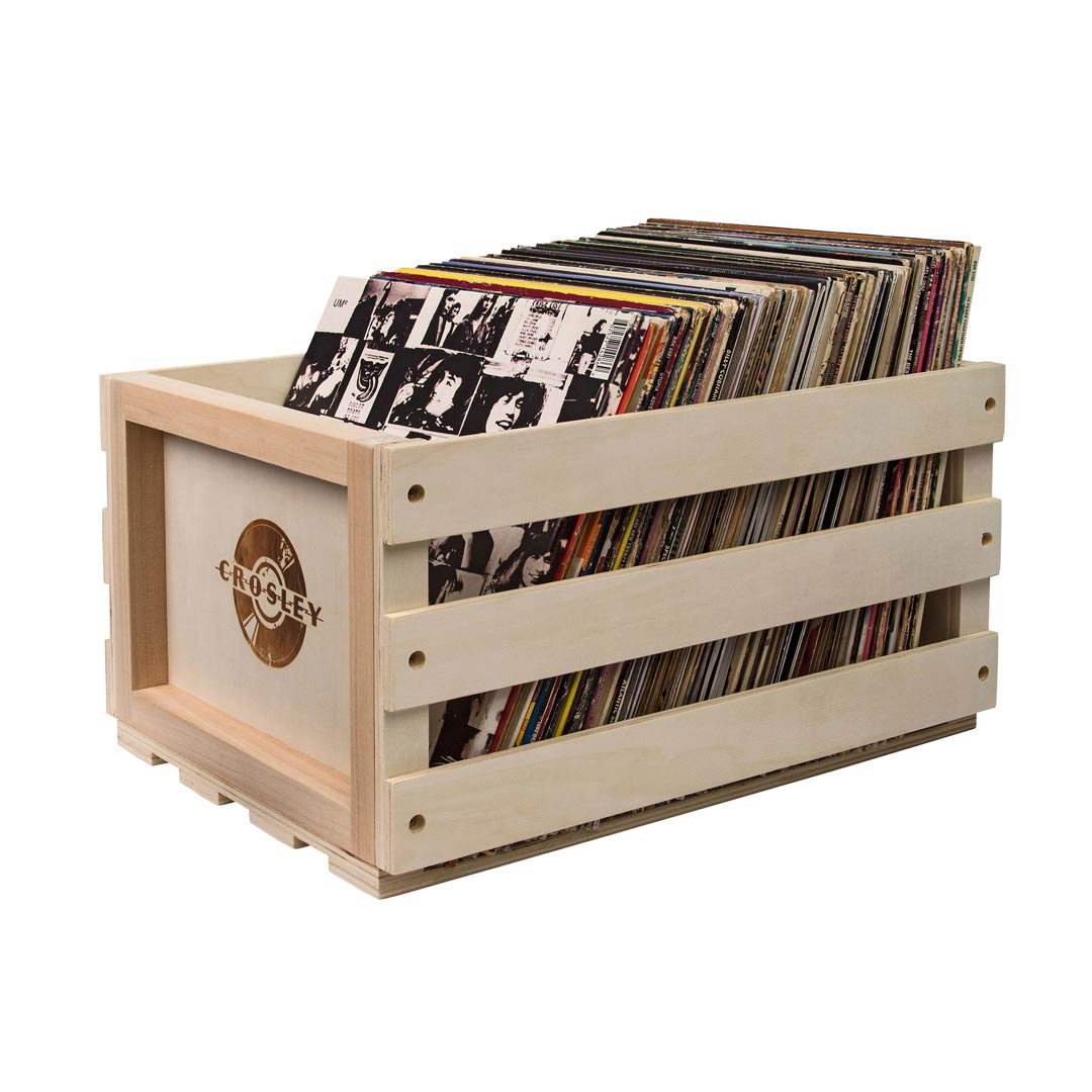 Crosley | Caixa para armazenamento de discos