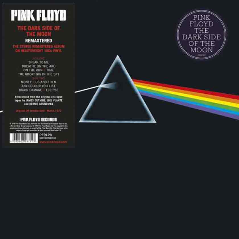 Pink Floyd | The Dark Side Of The Moon (remastered) (180g)