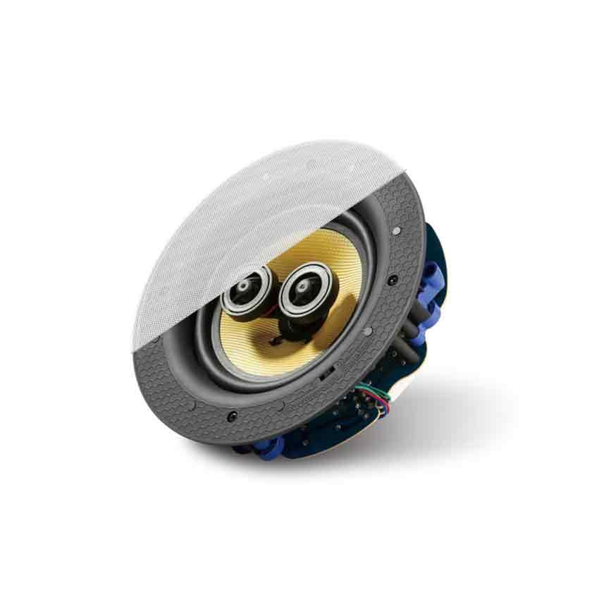 """LitheAudio   6.5"""" Passive Stereo Ceiling Speaker"""