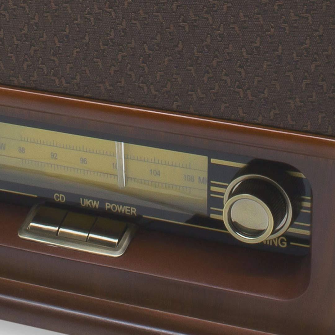 Soundmaster | Rádio de Mesa Nostalgic com CD NR976