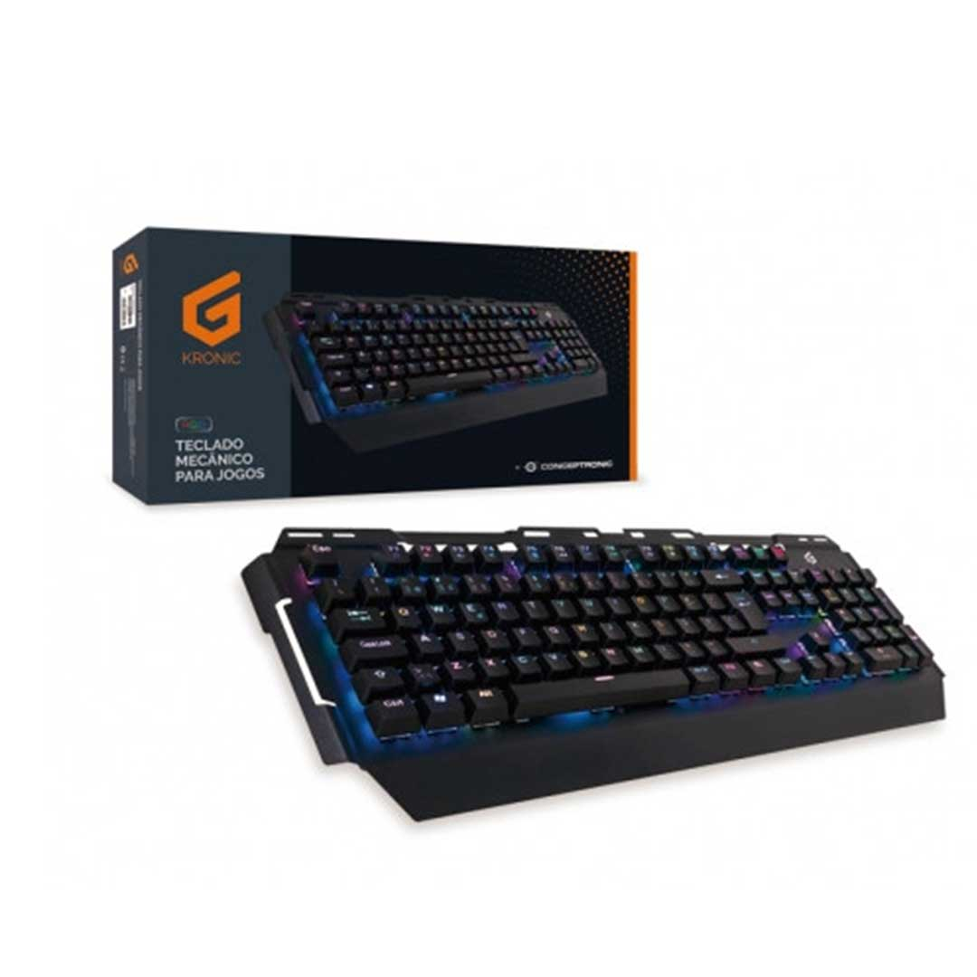Conceptronic | Teclado Gaming RGB PT