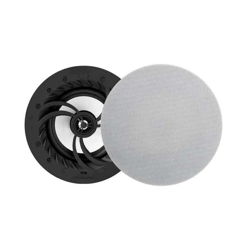 LitheAudio   All-in-one IP44 WiFi Multi-Room Ceiling Speaker