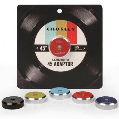 Crosley | Adaptador 45 RPM em alumínio