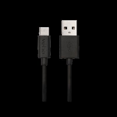 Veho | USB-C Cabo de sincronização e carga Veho USB-A para USB-C - 0,2 m / 0,7 pés