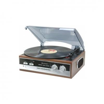 Soundmaster | Gira-Discos com rádio PL186H