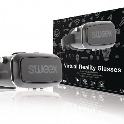 Sweex | Óculos de realidade virtual com lentes ajustáveis de 4 vias